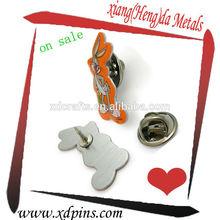 hot sale animal clay sculpture metals lapel pin