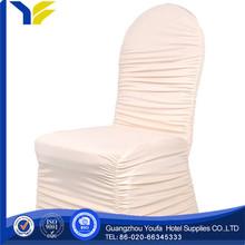 arm fashion design elastic white chair cover spandex chair cover chair sash