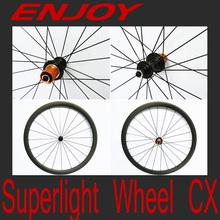 super light enjoybicycle carbon road wheelsets,20/38/50mm tubular&clincher,Sapim CX spokes,UD matt,high TG fiber,basalt brake