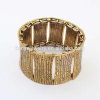 Wholesale Fashion Gold Stretch Greek Bracelet For Statement Jewelry