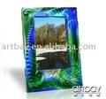 tallado de cristal marco de fotos