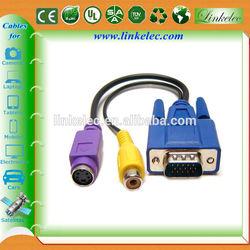 Factory supply wholesale cable vga rca casero