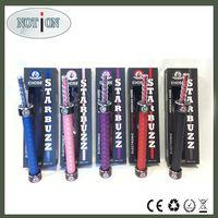 2014 portable handle starbuzz e hose shisha with rechangable huge puff cartridge