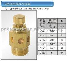 C Type Exhaust muffler