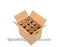 6 bottle wine cardboard bottle carrier wine carries corrugated carton