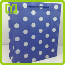 Good quality colored printing wholesale pp shopping bag with low price