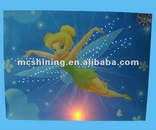 fornitore porcellana ha condotto la luce carte di buon compleanno cartoon design