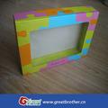 Lujo surtidor de la extensión del pelo de la caja de papel / caja de papel de empaquetado