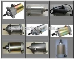 Motorcycle starter motor,starting motor,parts for Jialing JH125,JH100,Lifan LF125,LF100,Zongshen ZS100,ZS125