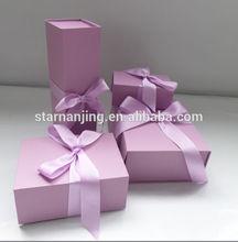 High quality recycled custom printed paper kraft box gift sets