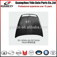 latest popular engine hood of SKODA OCTAVIA automobile spare parts