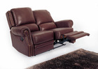 home cinema leather sofa 611