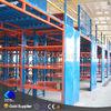 Industrial storage use adjustable Q235 steel pallet rack supported steel mezzanine floor