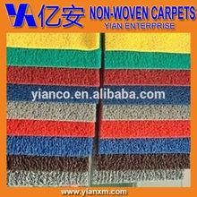 Muti-color custom non slip durable PVC coil mat