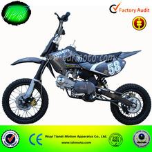 new dirt bike pit bike made in China TDR Moto Lifan 125cc aircooled 4 speeds kick start 125cc dirt bike for sale cheap