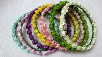 Wedding bridal flower headband,colorful headband