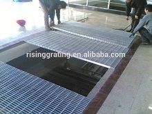 Q 235 & Q 275& Q 295 mild steel flooring grating drainage trench cover/manhole cover