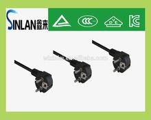 SINLAN KLT certifaction Korea power cord plug 5A ,13A