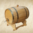 Mini oval wooden wine barrel for sale