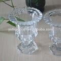 Klar großhandel glasvase wein glas-vase für blumen