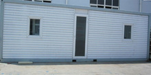 2014 hot low cost fast assembly large container house with heat insulation