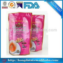 Hot selling custom plastic stand up dry fruit bag