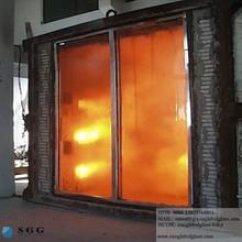 Coupe - feu porte en verre