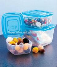 De calor- resistindo recipientes plásticos de comida por atacado