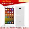 """Original Xiaomi Mi4 4G LTE Mobile Phone 5"""" Quad core 3GB RAM 16GB 64GB ROM yxtel mobile phone"""