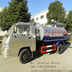 super quality best selling fecal tanker truck foton mini truck