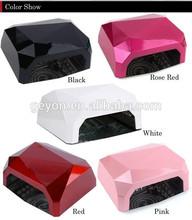 36W Nail Art LED UV Gel Cure Curing Lamp Dryer Timer Gelish Polish Tool uv lamp 365-405nm