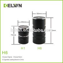 2014 newest original kelvin H6 variable voltage e hookah vaporizer pen with 2200 mah