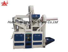 Agricultural farm machine combined rice hulling machine