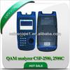 CATV signal level meter----Digital TV Spectrum QAM analyzer CSP-2500, 2500C