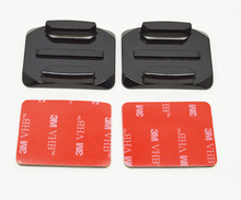 Wholesale high quality accessories for Gopro 2 X Curved Surface 3M VHB Adhesive Sticky Mount for gopro hero 3 3/2/1