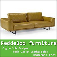 2014 hot sell modern country style furniture leather sofas