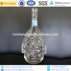 Custom made empty animal shape glass bottles