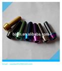 color titanium hex cap screw m5 m6 bicycle