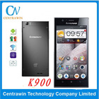 "Lenovo K900 with 5.5"" Intel Atom ZS580 Android 4.2 1920x1080p 2GB RAM 16GB ROM 13.0MP Camera Original Mobile Phone Lenovo K900"