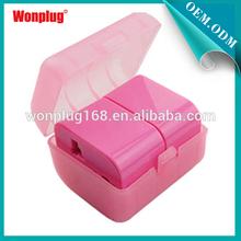 2014 Popular Multi-function Wonplug Fashion Promotioal free sample universal plastic promotion gift