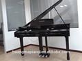 Piano digital fábrica 88 teclas touch teclado midi preto polonês digital grand piano huangma hd-w086 pedal harpa