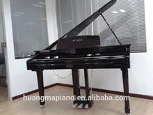 Digital Piano Factory 88 keys Touch Hammer Keyboard MIDI Black Polish Digital Grand Piano HUANGMA HD-W086 suizhou