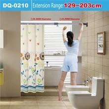 bathroom storage rack adjustable clothes hanging rack toilet holder 0210