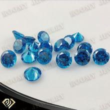 synthetic round aquamarine CZ stones