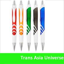 hot sale custom metal tip plastic ballpoint pen