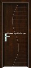Européenne extérieur bois de caoutchouc solide inégal portes entreprise de conception