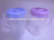 1.2L plastic water jug set plastic water pitcher