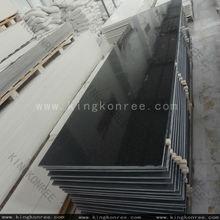 Pura negro artificial de los materiales de piedra, Dureza 30 mm acrílico superficie sólida