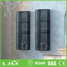 Microwaveable moveable 3 doors steel clothes cabinet steel garderobe