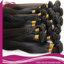 Bolin Hair Natural Black Silky Straight 100% Virgin Brazilian Remy Hair
